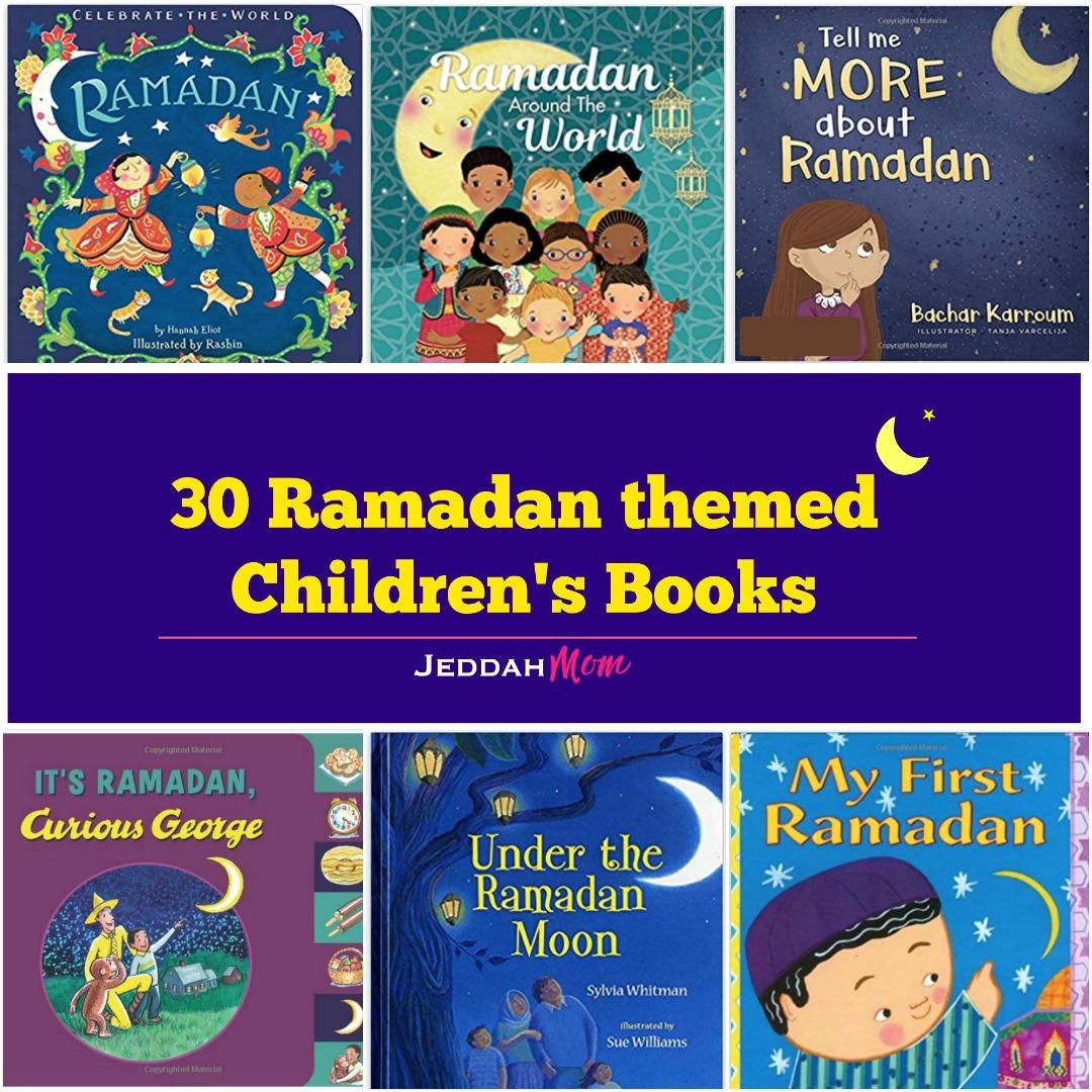 30 ramadan themed children's books jeddahmom