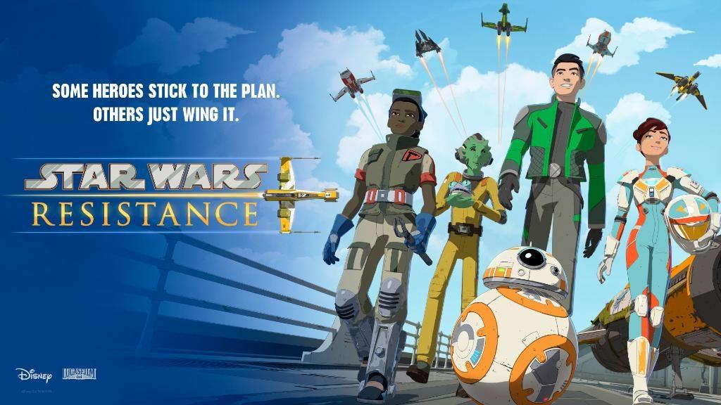 Star Wars Resistance - Heroes Banner