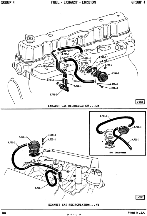 small resolution of vacuum line routing jeep carburetor diagram jeep cj5 304 vacuum diagram