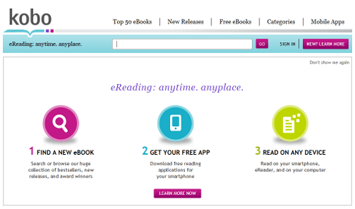 The problem with ebook services - How Kobo doesn't get it quite right.