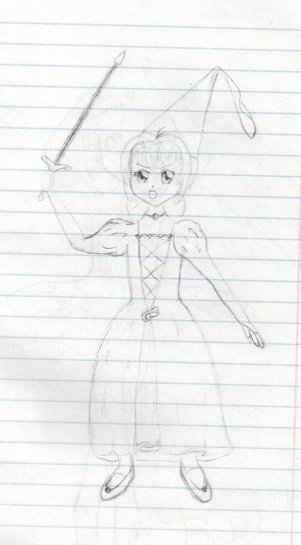 Fan Art Friday: Sakura-hime with Sword