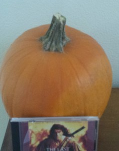 pumpkin and CD