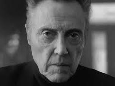 Legendary film actor Christopher Walken and his famous glower.