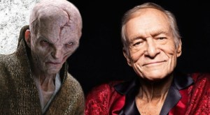 Justin Edison's humor blog on Star Wars VIII with chief bad guy Snoke being compared to Hugh Hefner.