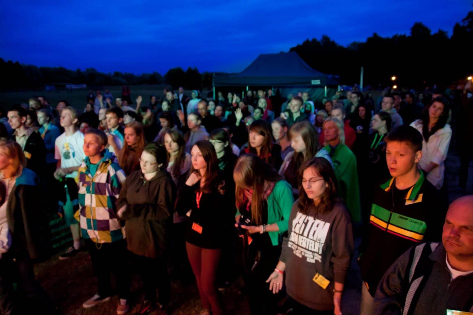 Wspólnota Jednego Ducha, Wieczór Chwały, Wieczór Chwały w Kodniu, 2013.07.23
