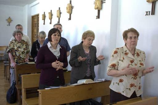 Wspólnota,  Wspólnota Jednego Ducha,  Dzień skupienia, Dzień skupienia w Nowym Opolu, 2011.05.20