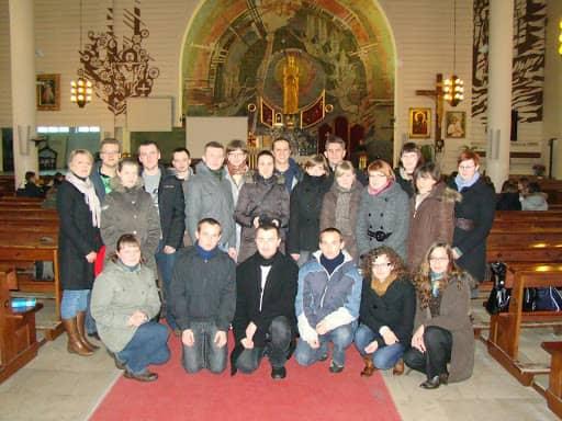 Wspólnota,  Wspólnota Jednego Ducha,  Ewangelizacja,  Ewangelizacja gimnazjalistów, 2010.02.20