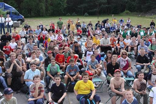 Wspólnota,  Wspólnota Jednego Ducha,  Ewangelizacja,  Ewangelizacja na koczowisku ministranckim w Opolu Nowym, 2008.06.21