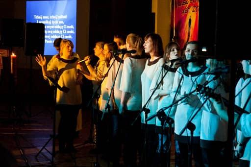Wspólnota,  Wspólnota Jednego Ducha,  Ewangelizacja,  Ewangelizacja w Łukowie, 2011.03.24