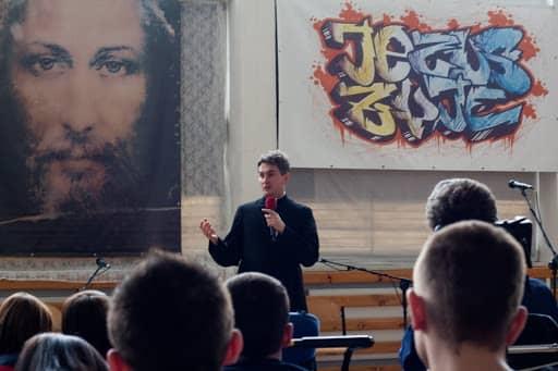 Wspólnota,  Wspólnota Jednego Ducha,  Ewangelizacja,  Ewangelizacja w Łukowie, 2011.03.25