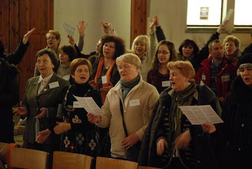 Wspólnota,  Wspólnota Jednego Ducha,  Rekolekcje,  Rekolekcje dla głodnych, 2011.03.06