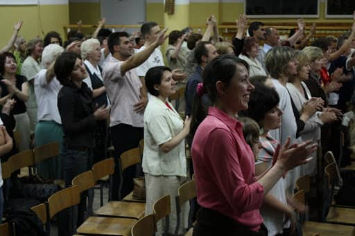 Wspólnota, Wspólnota Jednego Ducha, Wieczór Chwały, 2008.06.19