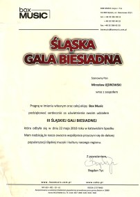 Śląska Gala Biesiadna 2010