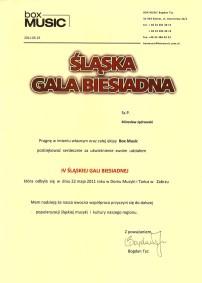 Śląska Gala Biesiadna 2011