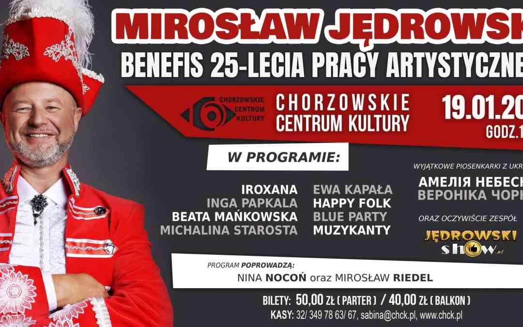 Benefis 25-lecia pracy artystycznej Mirka Jędrowskiego (koncert)