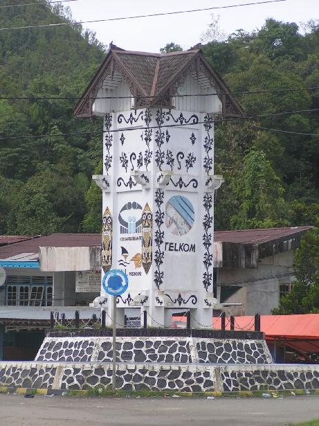 The central point of Entikong.