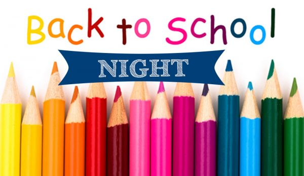 Redesigning Back to School Night