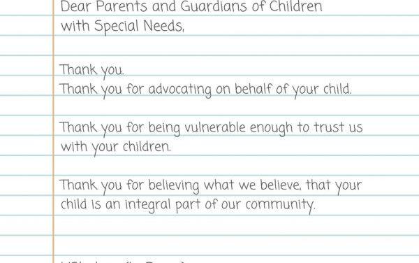 Dear Parents and Guardians – Parashat Beshallach