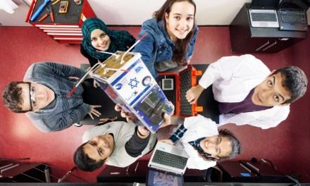 Israeli high-school students launch nano-satellite into space