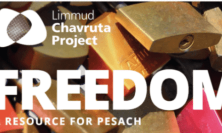 """Freedom – A Resource for Pesach"" Inaugurates Limmud Five-part Israel at 70 Chavruta Series"