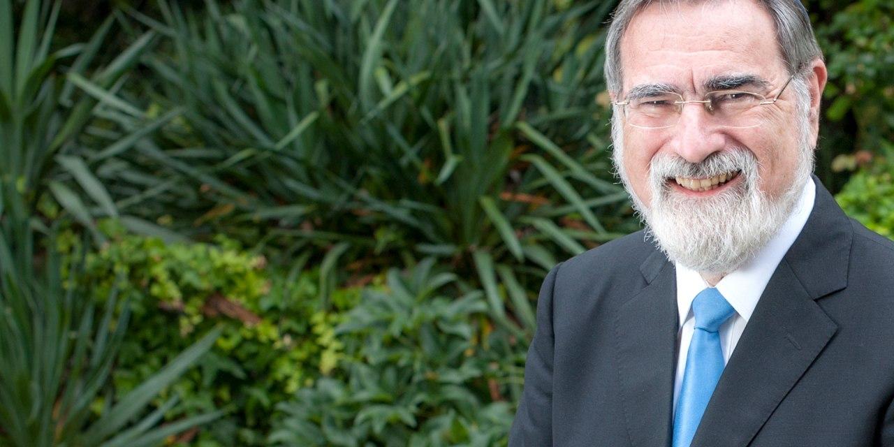 On Rabbi Lord Jonathan Sacks and Education