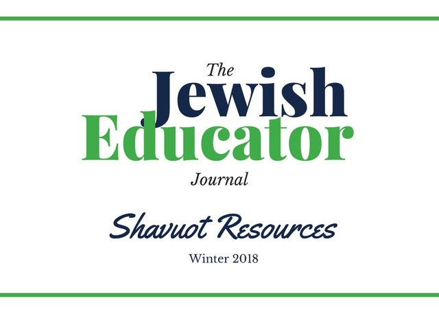 The Jewish Educator: NewCAJE's Journal of Jewish Education