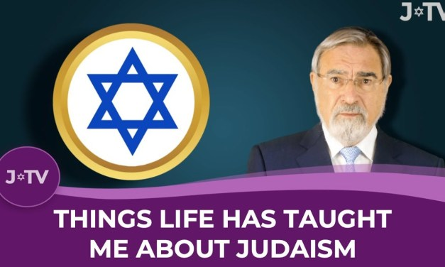 J-TV: Things Life Has Taught Me About Judaism