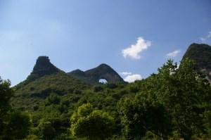 Księżycowa góra w okolicach Guilin