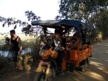 Jezioro Inle - trishaw