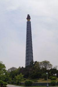 Pjongjang - Wieża Idei Dżucze
