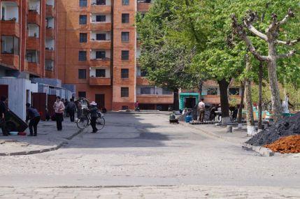 Pjongjang - zaplecze osiedla