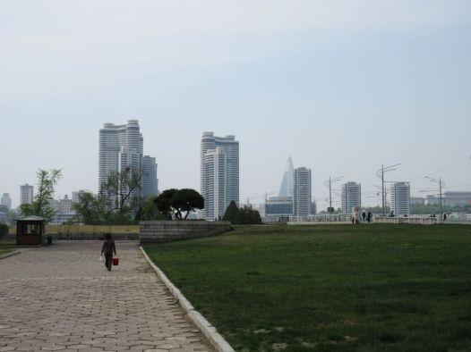 Pjongjang - ulica Tongdaewon