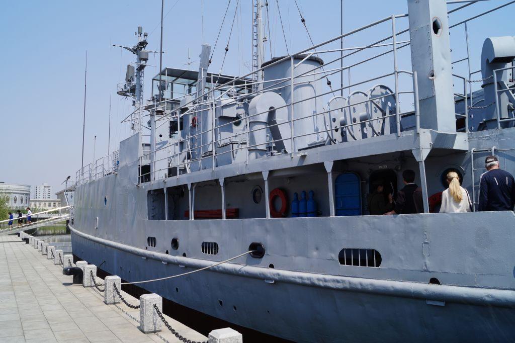 Muzeum Zwycięskiej Wojny o Wyzwolenie - USS Pueblo