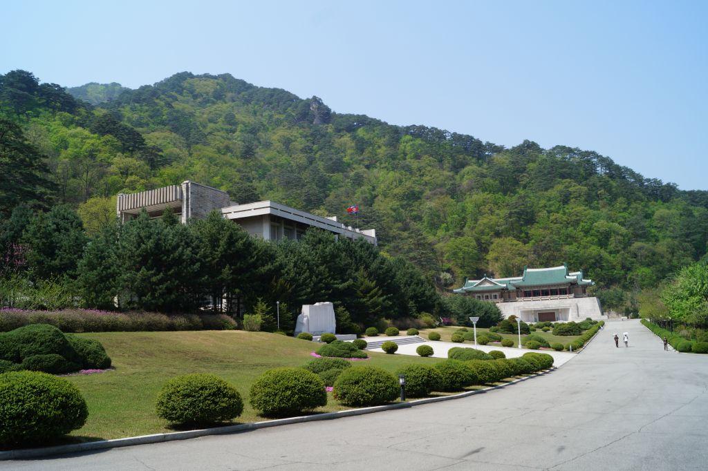Myohyangsan - budynki Wystawy