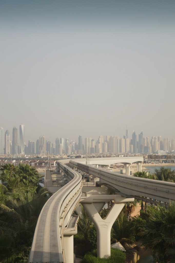Dubaj - Mono-rail