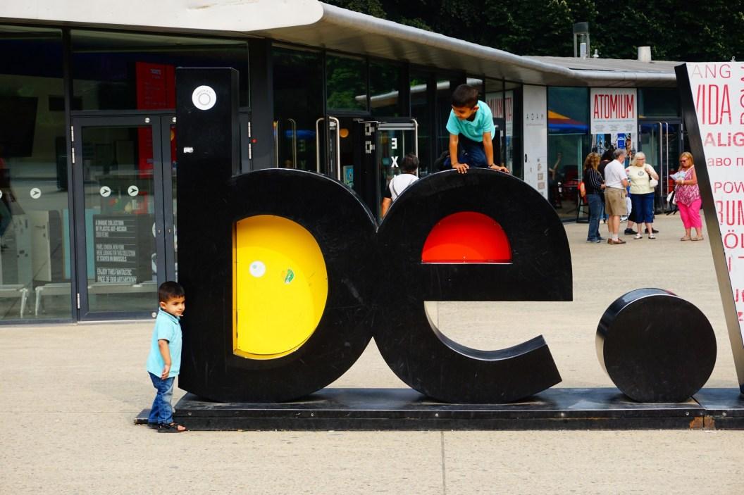 Bruksela - Atomium