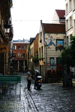 Bruksela - Mural