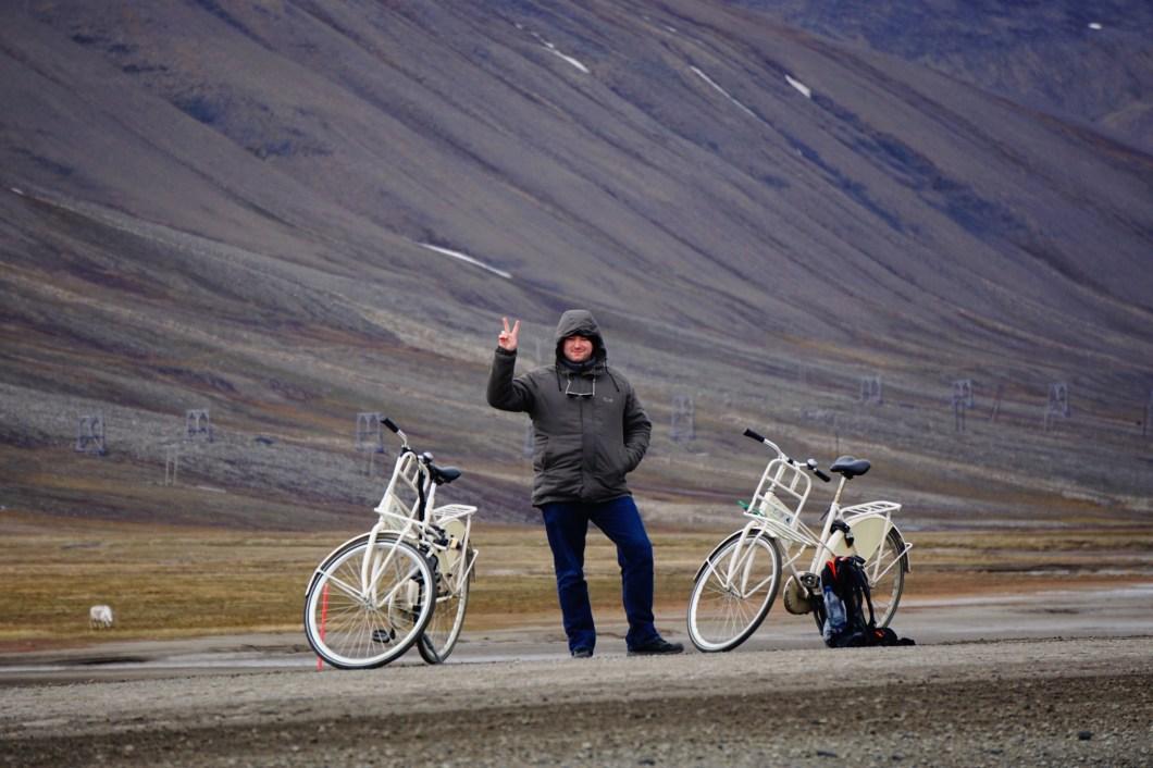 Rowery z Longyearbyen Camping