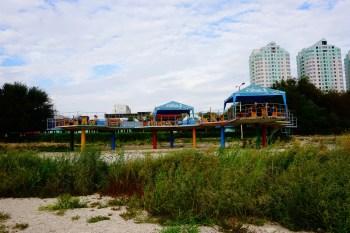 Aktau - plaża