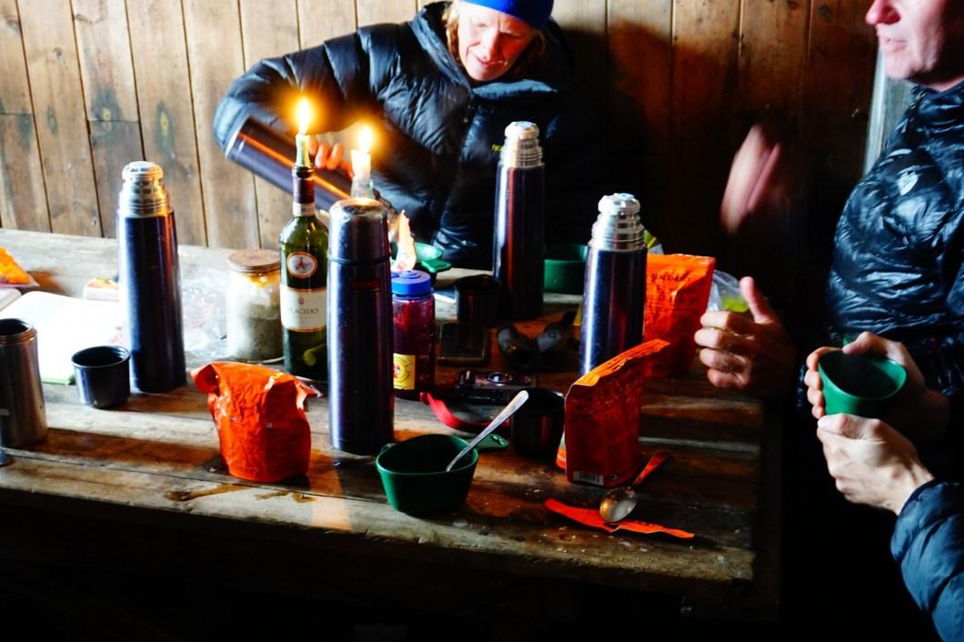 Arctic Challenge Svalbard - lunch