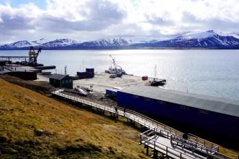 Barentsburg - port