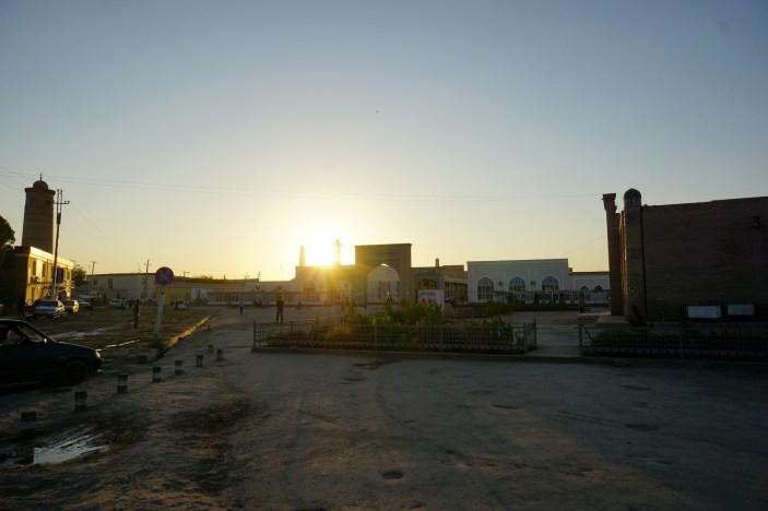 Chiwa - miasto zewnętrzne