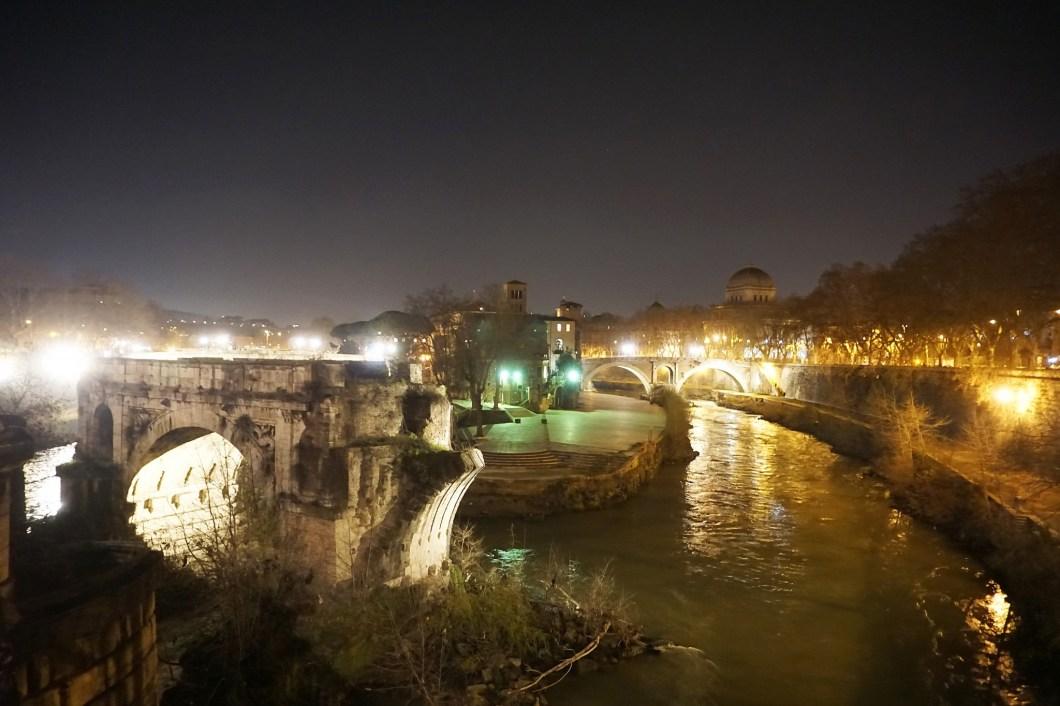 Alternatywne atrakcje Rzymu - Wyspa Tyberyjska