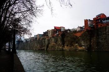 Tbilisi - rzeka Kura