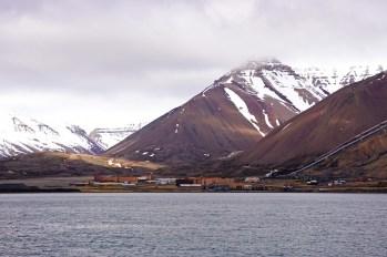 Miasto od strony morza - jeszcze z pokładu M/S Polargirl