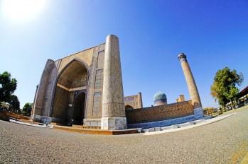 Samarkanda - meczet Bibi Chanum