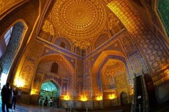 Samarkanda - registańskie wnętrza