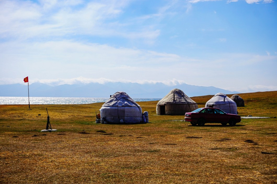 Kirgistan - nad Song Kol