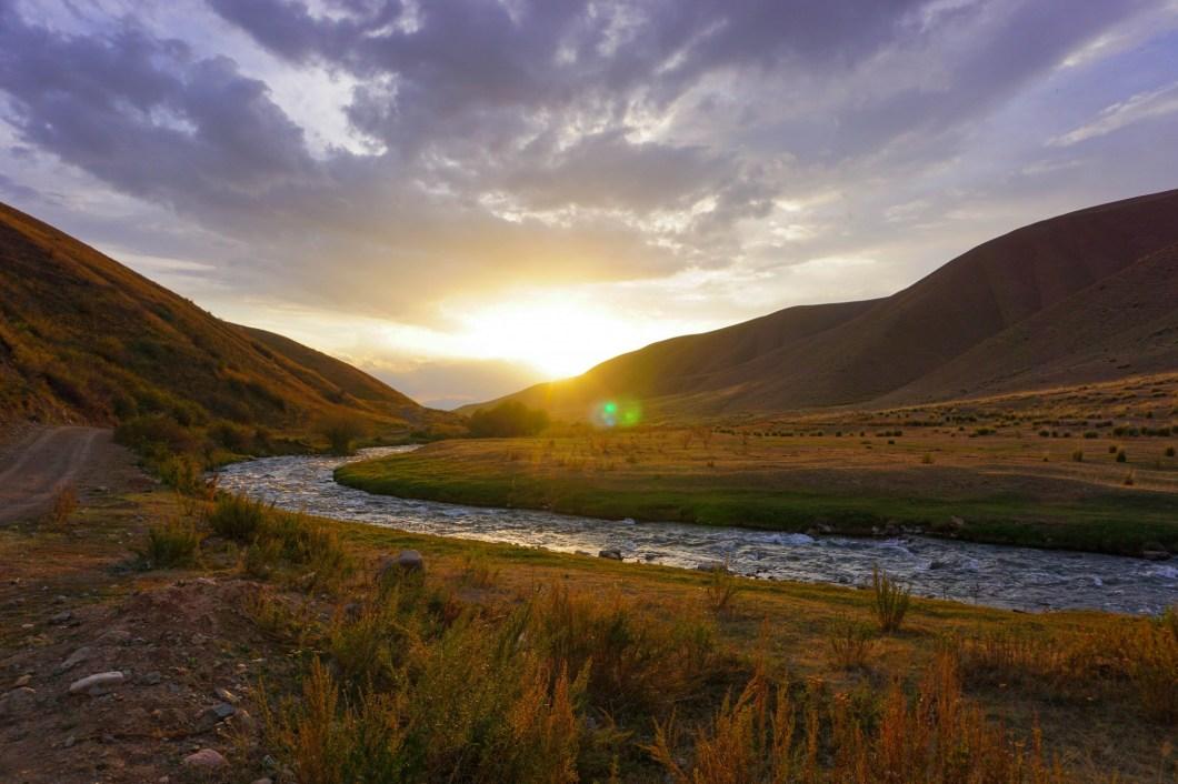 Kirgistan - widoczek
