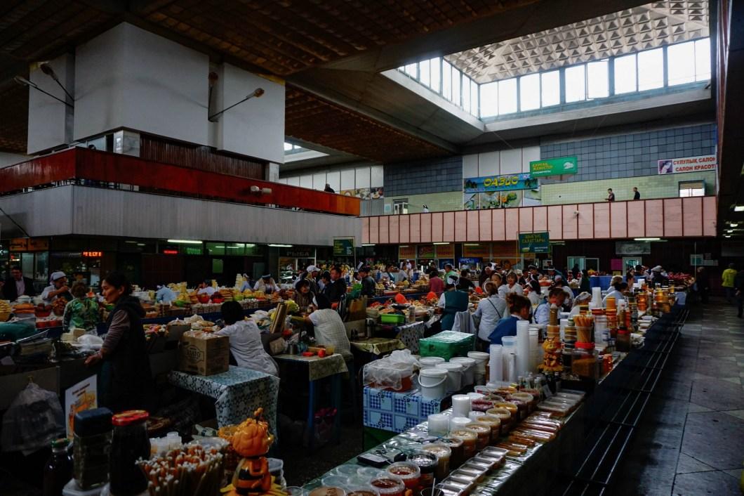 Almaty - Zielony Rynek